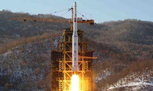Imagem 2 - Teste nuclear norte coreano em 2013.