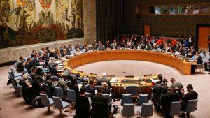 Imagem 1 – Reunião do Conselho de Segurança das Nações Unidas