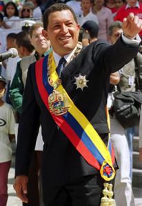 Imagen 1 – Presidente Hugo Chávez elegido en 2000 bajo la nueva Constitución